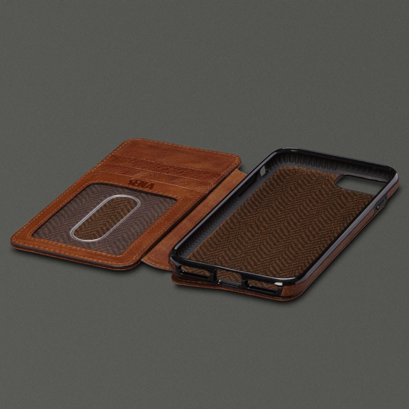 Sena Heritage Wallet Book iPhone 7 Cognac - 3