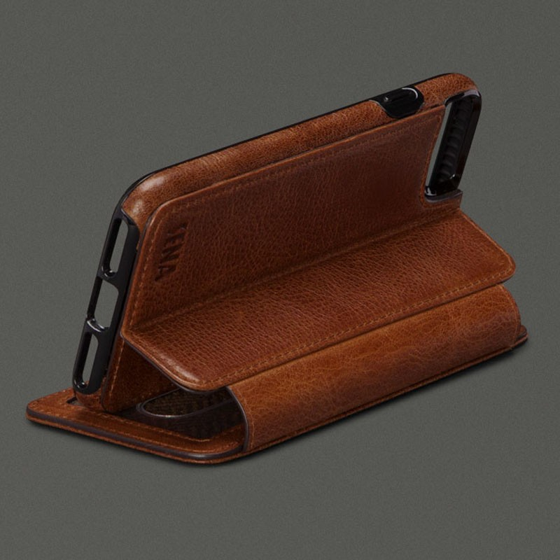 Sena Heritage Wallet Book iPhone 7 Cognac - 2
