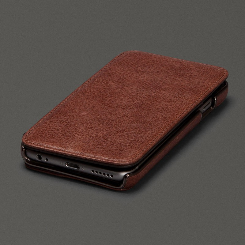 Sena Heritage Wallet Book iPhone 6 Plus Brown - 1