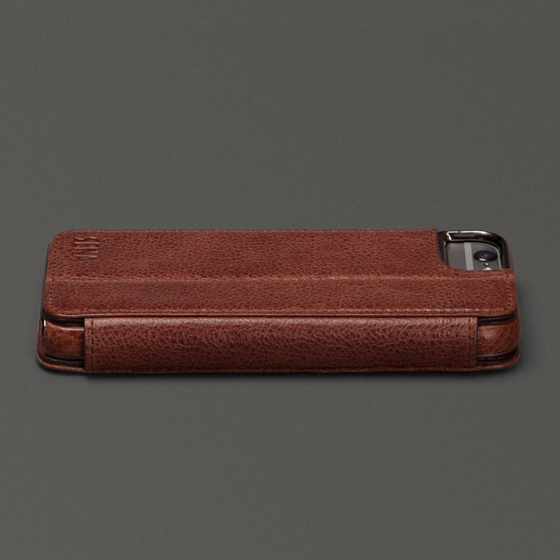 Sena Heritage Wallet Book iPhone 6 Plus Brown - 2