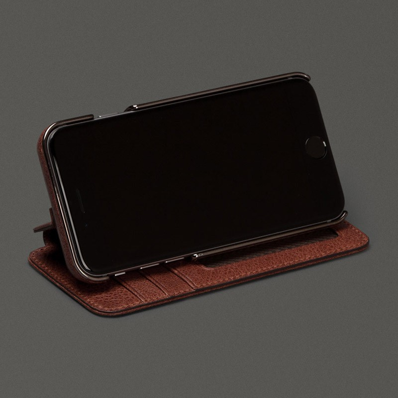 Sena Heritage Wallet Book iPhone 6 Plus Brown - 4