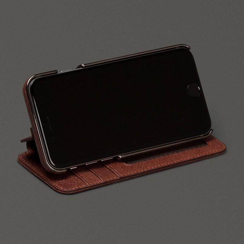 Sena Heritage Wallet Book iPhone 6 Praline - 5