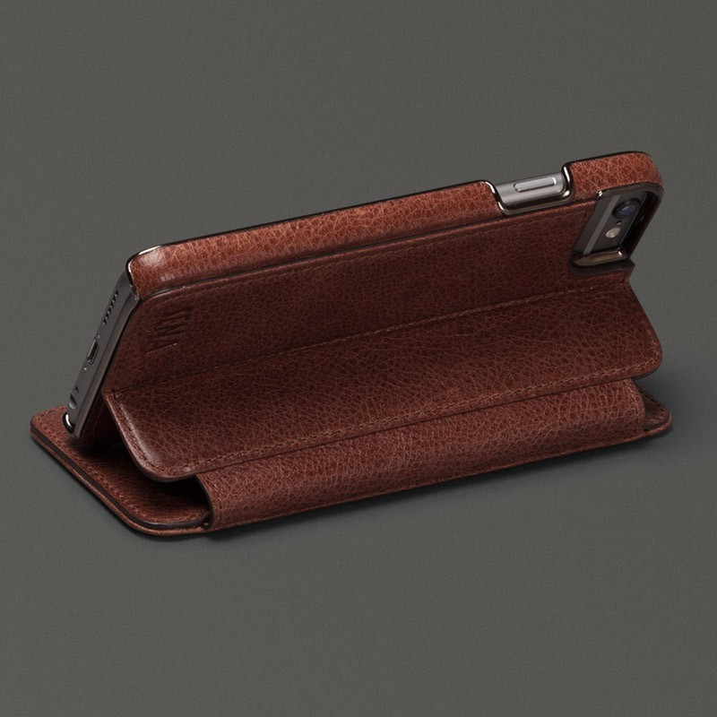Sena Heritage Wallet Book iPhone 6 Plus Brown - 3