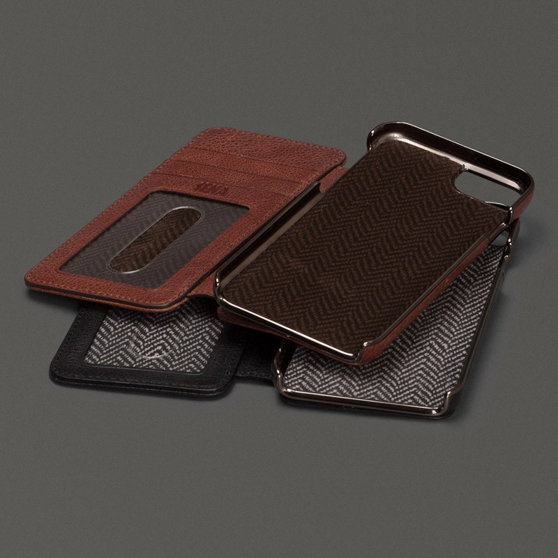 Sena Heritage Wallet Book iPhone 6 Black - 7