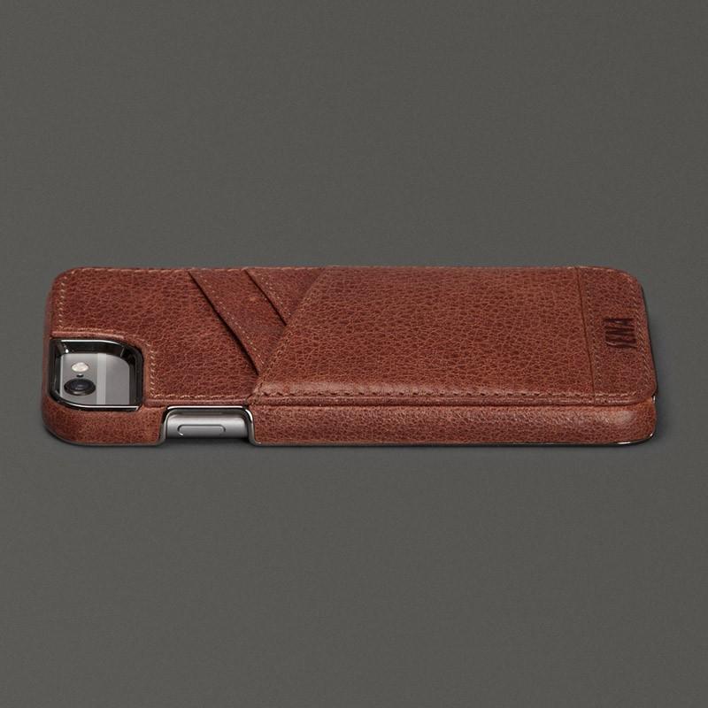 Sena Lugano Wallet iPhone 6 Brown - 5