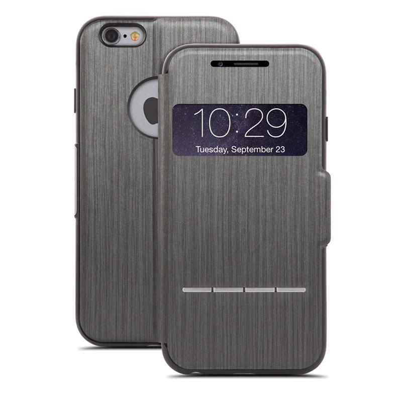 Moshi SenseCover iPhone 6 Plus Steel Black - 1