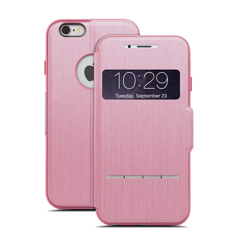 Moshi SenseCover iPhone 6 Rose Pink - 1