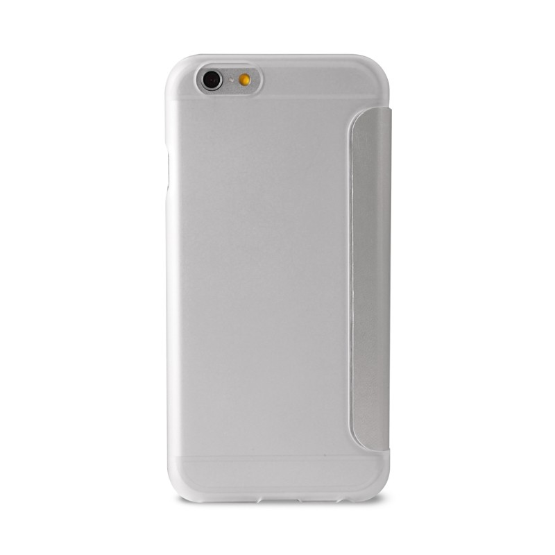 Puro - Eco Leather Wallet iPhone 6 Silver - 2