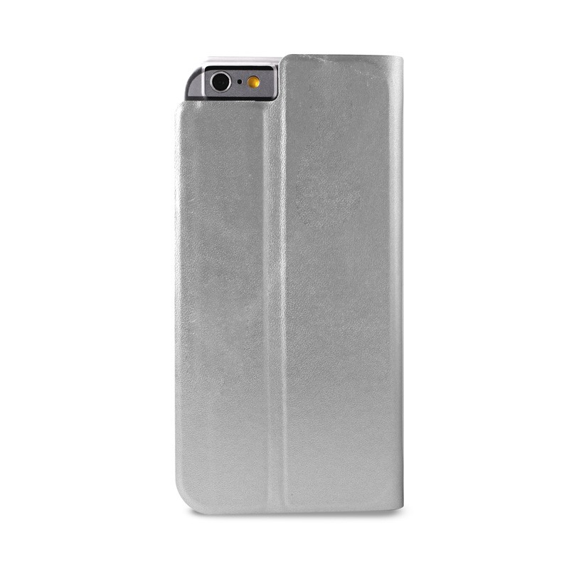 Puro Eco Leather Wallet iPhone 6 Silver - 2