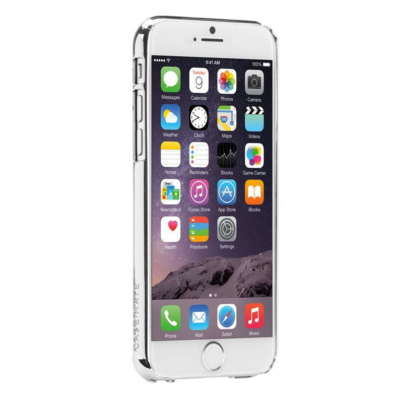 Case-Mate Barely There iPhone 6 Silver - 3