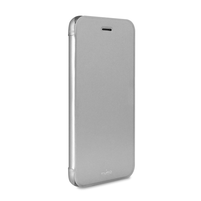 Puro - Eco Leather Wallet iPhone 6 Silver - 4