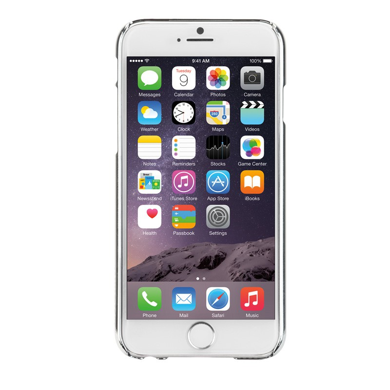 Case-Mate Barely There iPhone 6 Silver - 2