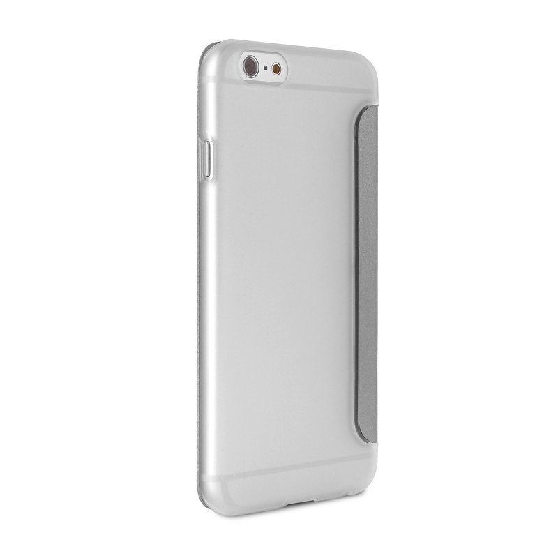 Puro - Eco Leather Wallet iPhone 6 Silver - 5
