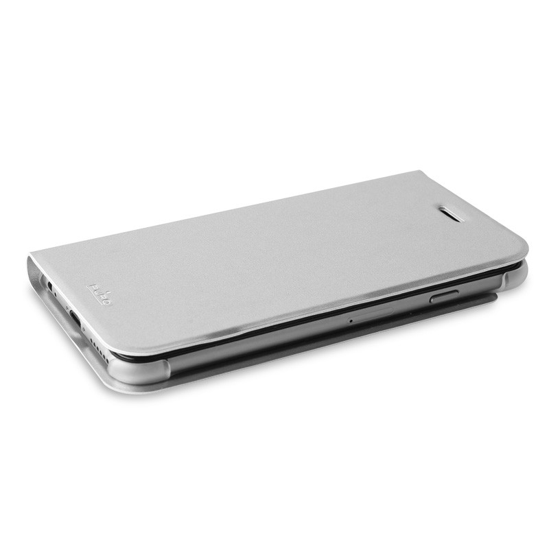 Puro Eco Leather Wallet iPhone 6 Silver - 8