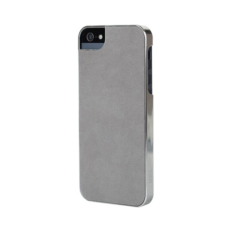 Sena Ultra Thin Snap On iPhone 5/5S Slate/silver