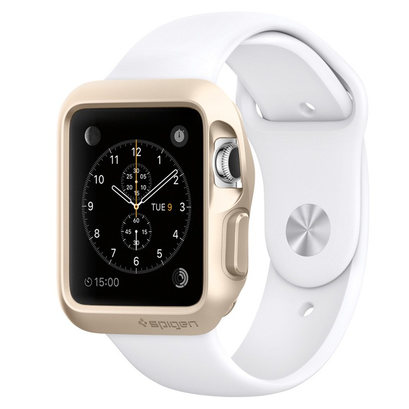 Spigen Slim Armor Apple Watch 38mm Gold - 1