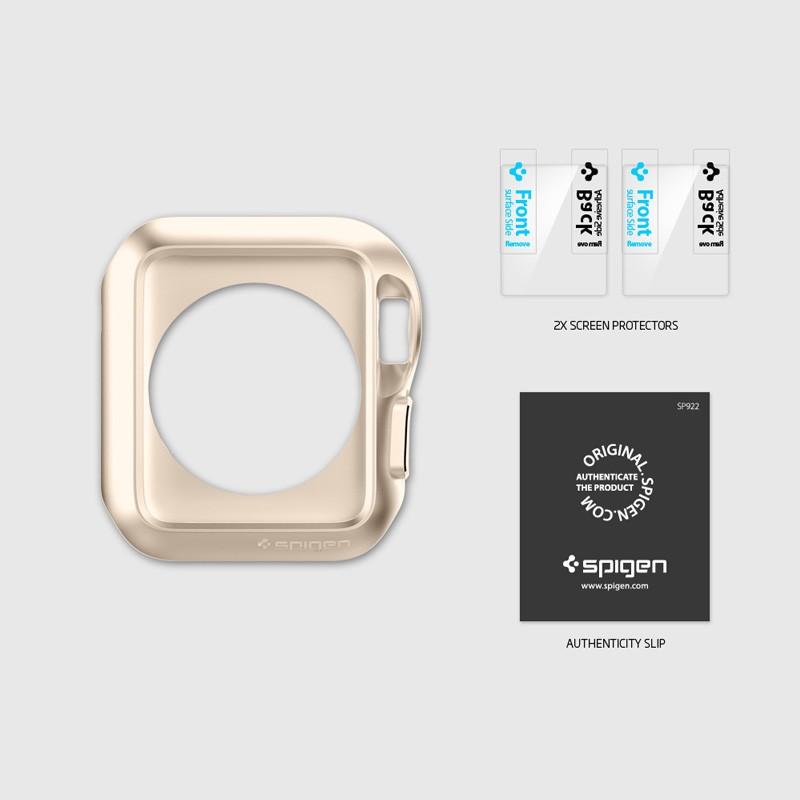 Spigen Slim Armor Case Apple Watch 42mm Gold - 7