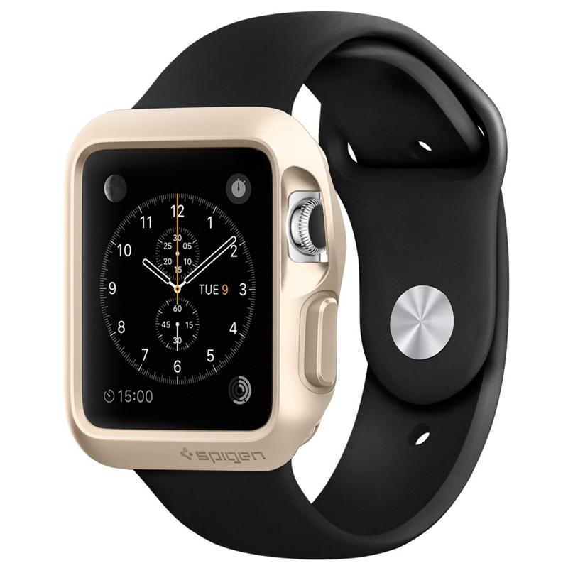 Spigen Slim Armor Case Apple Watch 42mm Gold - 1