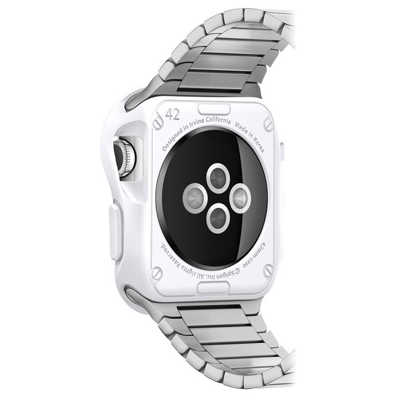 Spigen Slim Armor Case Apple Watch 42mm Silver - 3