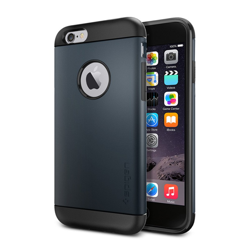 Spigen Slim Armor Case iPhone 6 Metal Slate - 1