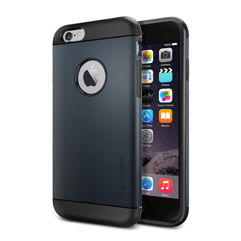 Spigen Slim Armor Case iPhone 6 Metal Slate - 1
