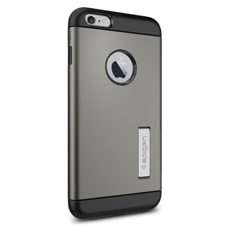 Spigen Slim Armor Case iPhone 6 Plus Gunmetal - 2
