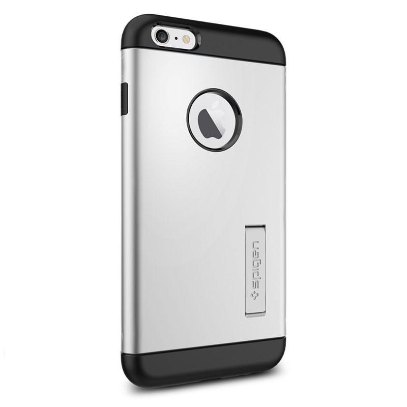 Spigen Slim Armor Case iPhone 6 Plus Satin Silver - 2