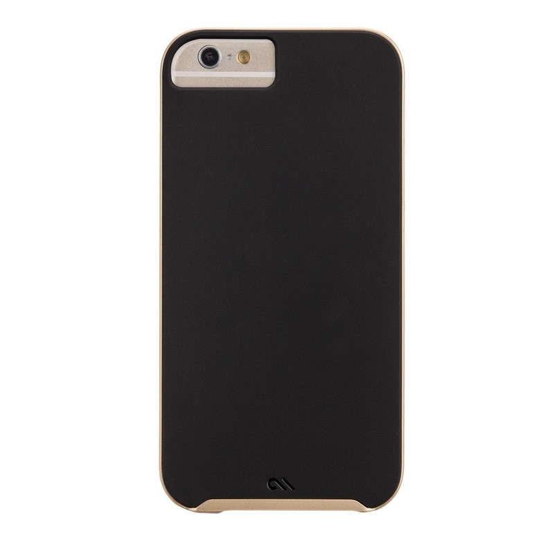 Case-Mate Slim Tough Case iPhone 6 Black/Gold - 2