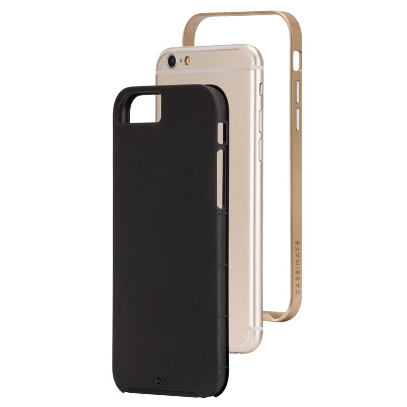 Case-Mate Slim Tough Case iPhone 6 Black/Gold - 3