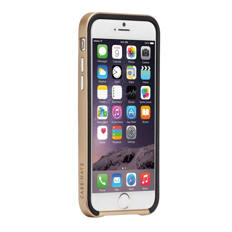 Case-Mate Slim Tough Case iPhone 6 Black/Gold - 5