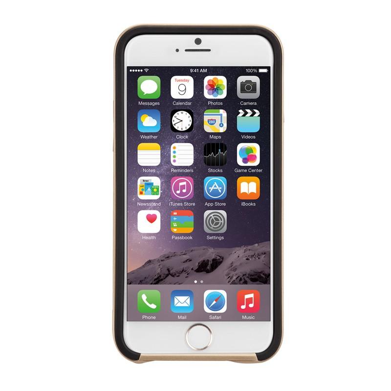 Case-Mate Slim Tough Case iPhone 6 Black/Gold - 6