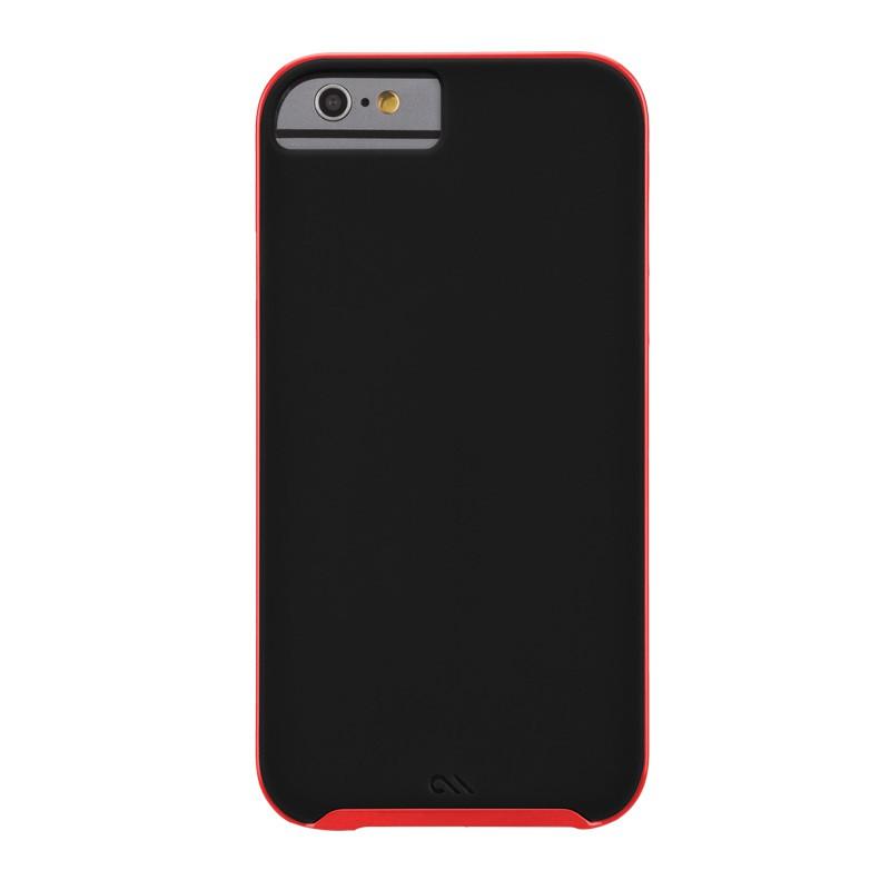 Case-Mate Slim Tough Case iPhone 6 Black/Red - 2