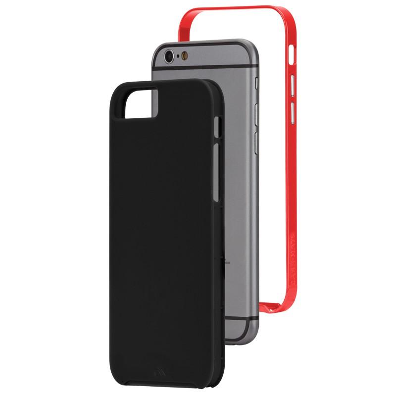 Case-Mate Slim Tough Case iPhone 6 Black/Red - 3