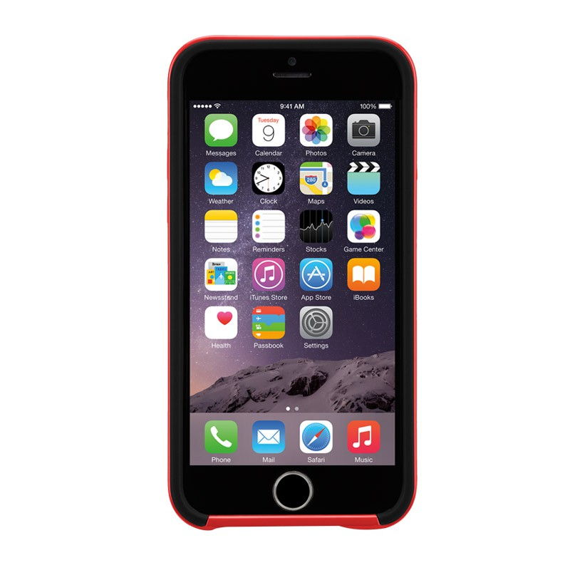 Case-Mate Slim Tough Case iPhone 6 Black/Red - 5