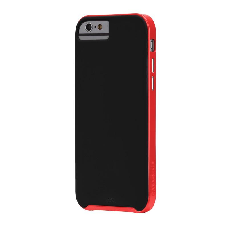 Case-Mate Slim Tough Case iPhone 6 Black/Red - 6