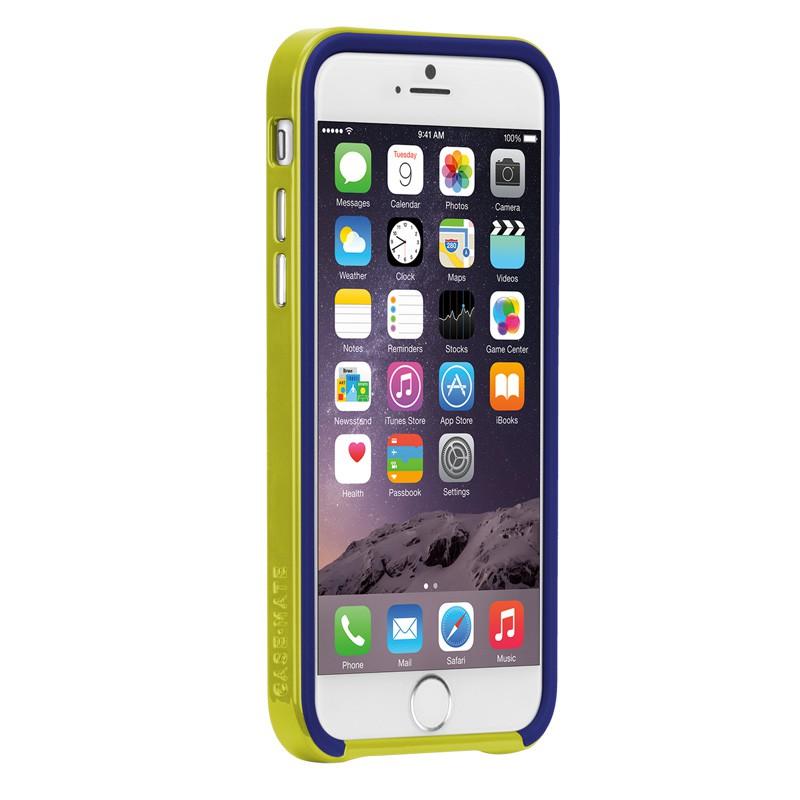 Case-Mate Slim Tough Case iPhone 6 Blue/Lime - 6