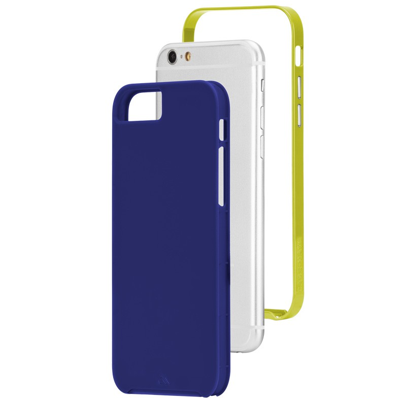 Case-Mate Slim Tough Case iPhone 6 Blue/Lime - 3