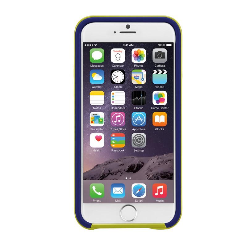 Case-Mate Slim Tough Case iPhone 6 Blue/Lime - 5