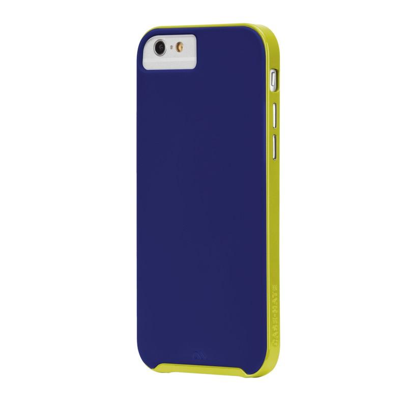 Case-Mate Slim Tough Case iPhone 6 Blue/Lime - 2