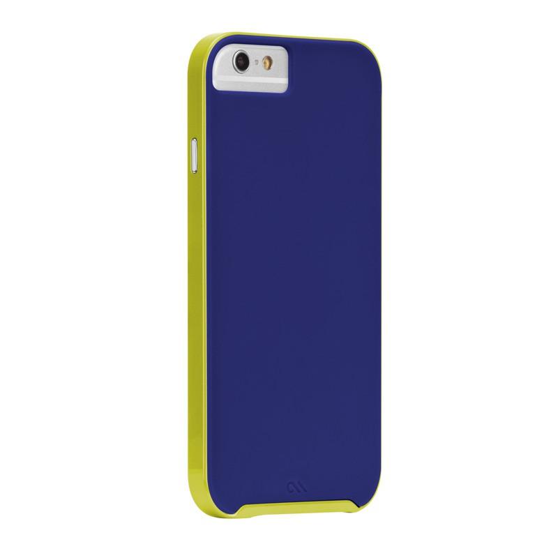 Case-Mate Slim Tough Case iPhone 6 Blue/Lime - 1