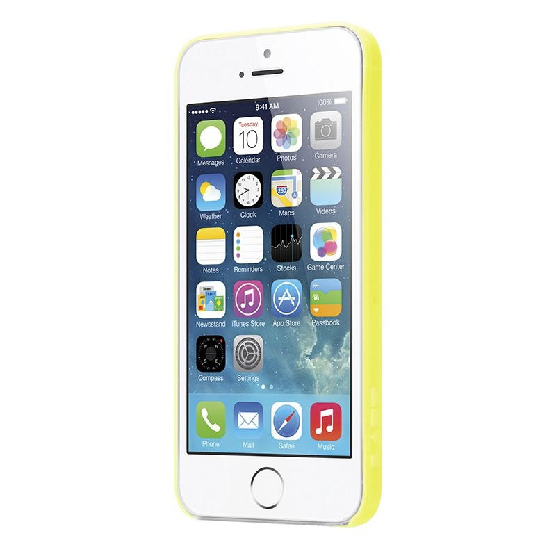 LAUT SlimSkin iPhone 5/5S Yellow - 2