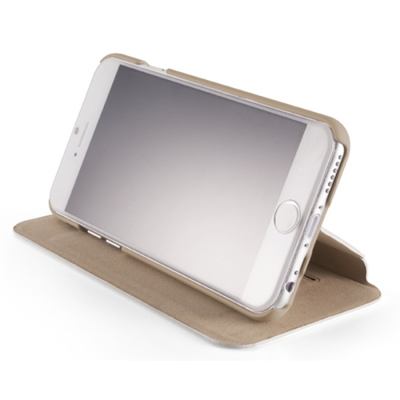 Element Case Soft-Tec Folio iPhone 6 White/Gold - 4