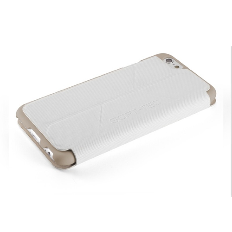 Element Case Soft-Tec Folio iPhone 6 White/Gold - 7