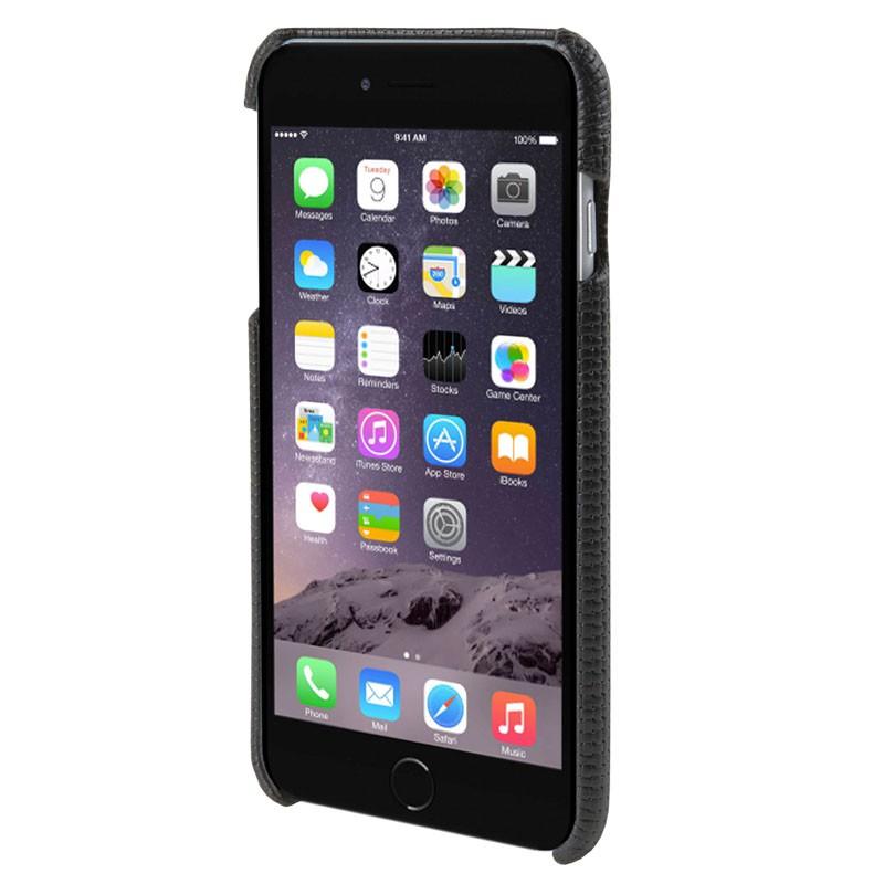 HEX Solo Wallet Case iPhone 6 Plus Black Woven - 2