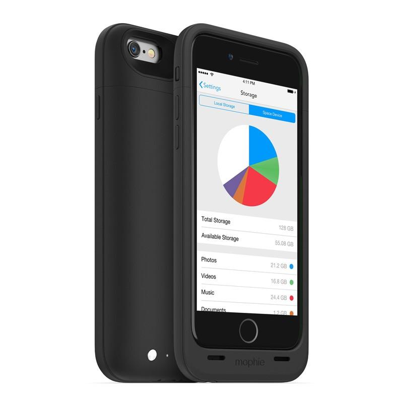 Mophie Space Pack 64GB iPhone 6 Black - 1