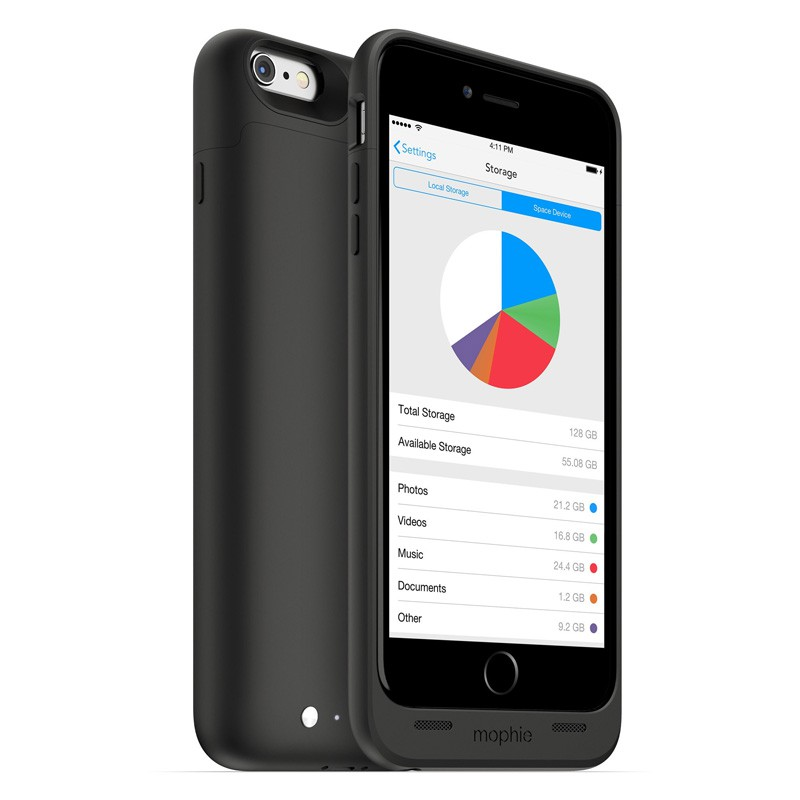 Mophie Space Pack 64GB iPhone 6 Plus - 1