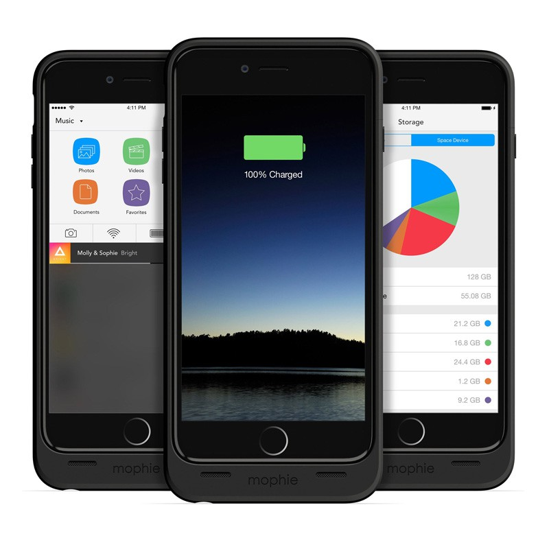 Mophie Space Pack 64GB iPhone 6 Plus - 4