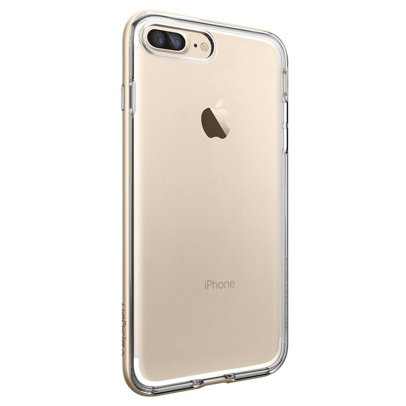 Spigen Neo Hybrid Crystal iPhone 7 Plus Champagne/Clear - 5