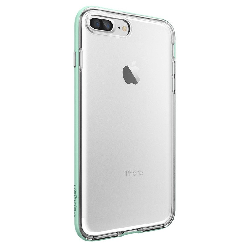 Spigen Neo Hybrid Crystal iPhone 7 Plus Mint/Clear - 5
