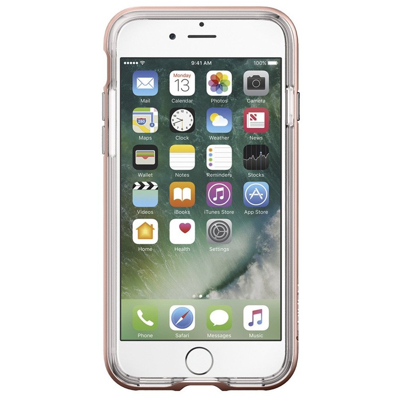 Spigen Neo Hybrid Crystal iPhone 7 Rose Gold/Clear - 2
